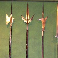 Test-cutting with Eastern and Western polearms