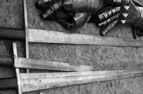 Hidden dangers: inspecting swords for flaws in practical cutting