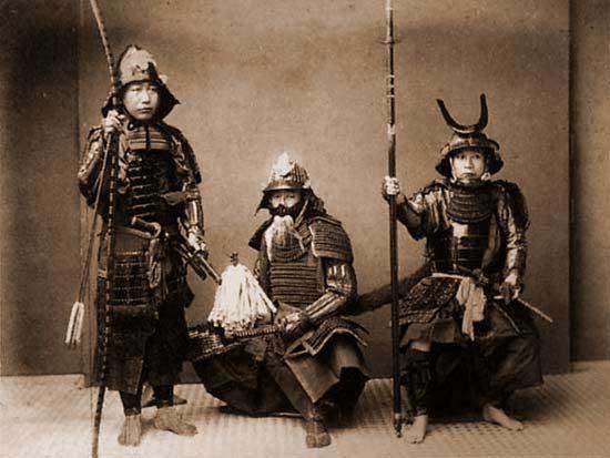 Samurai bushi (warriors)