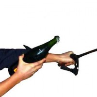More on opening Champagne with a sword