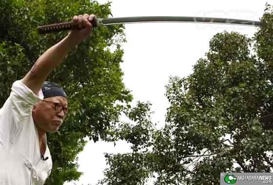 Jigen Ryu Instructor Hiroharu Wada