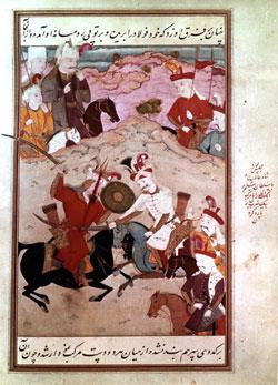 Period Ottoman warriors