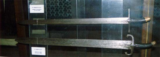 7th century straight swords