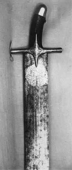 Ceremonial 15th century straight sword